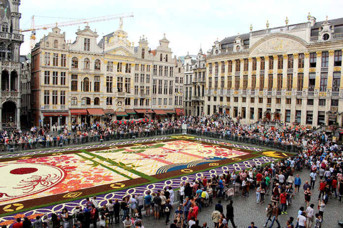 Площадь Гранд-Плас в Брюсселе