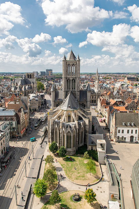 Церковь Святого Николая в Генте