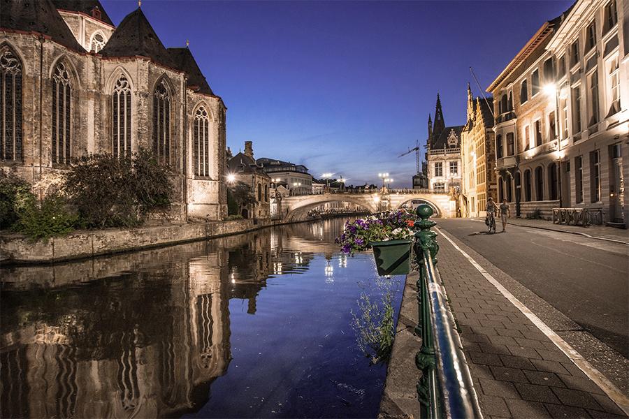 Мост Святого Михаила в Генте